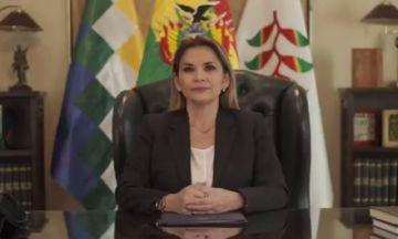 Áñez deja en manos del TSE y Legislativo fecha de elecciones en bolivia