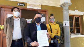 Alianza Juntos presenta ante el TSE otra denuncia contra el MAS