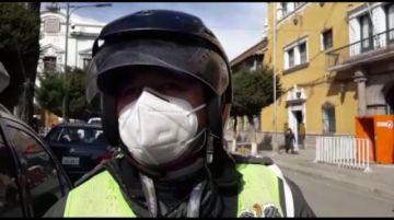 Conductores infractores fueron más de 20 el fin de semana en Potosí