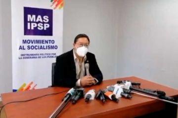 """Arce anuncia que el MAS viabilizará el pago de un bono de Bs 1000 y no """"solo"""" de Bs 500"""