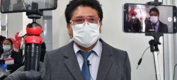 Alcaldía de Oruro  y la Universidad Técnica  acuerdan producción de dióxido de cloro