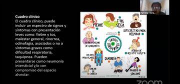 Sedes difunde información sobre el coronavirus