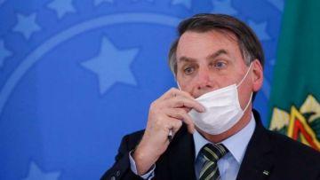 Jair Bolsonaro da nuevamente positivo a la COVID-19