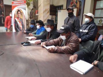 Campesinos sindicalizados declaran emergencia ante intento de anular personería del MAS