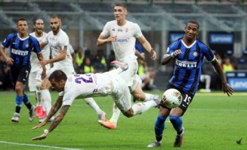Inter da oportunidad a Juventus de ser campeón tras empatar ante Fiorentina