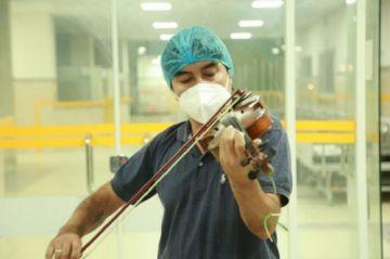 Dan de alta a los músicos chaqueños que combatieron al coronavirus