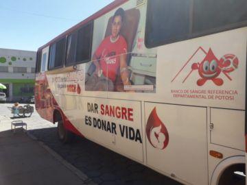 Por el día de la Amistad promueven la donación de sangre
