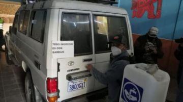 Ambulancia en la sede de las bartolinas en Cochabamba fue confiscada