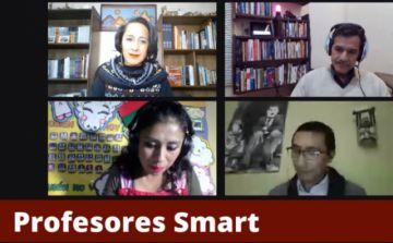 """Se desarrolla conversatorio """"Profesores Smart. Iniciativas para la educación vrtual"""""""