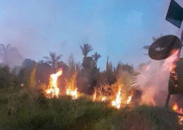 Se encienden alertas por nuevos incendios en la Chiquitanía