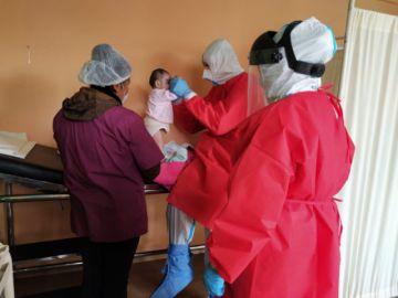 CNS verifica estado de salud de infantes del centro Niño de Praga