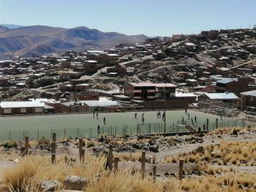 Reportan que en Puitucani y zonas aledañas hay partidos de fútbol y tiendas abiertas