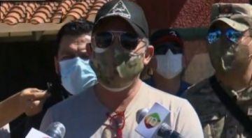 """Ministro de Defensa dice que Salvador Romero debería ir al Chapare """"si es hombrecito"""""""