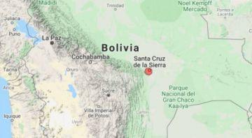 Reportan sismo de 3.4 en la escala de Richter en Santa Cruz