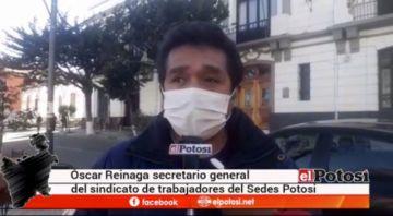 Sindicato Sedes pide resultados de casos sospechosos