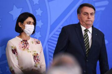 Michelle, la esposa de Bolsonaro, contrae el coronavirus