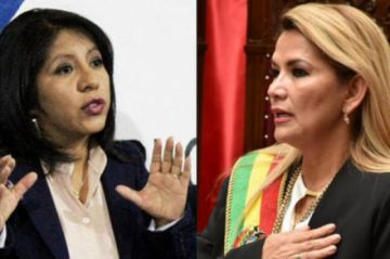 Nadia Cruz acusa a la presidenta jeanine Añez de incumplir sus deberes