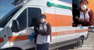 Médico que viajó a salvar a su padre por fin pudo llegar a Potosí