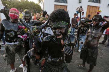 Fieles celebran a su santo pese a pandemia en Nicaragua