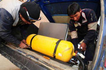La Paz: choferes ven demoras en la ejecución del plan de reconversión a GNV