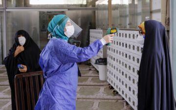 Irán registra récord de casos de coronavirus