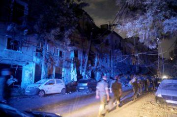 Lágrimas, desaparecidos y muertos en el puerto de Beirut