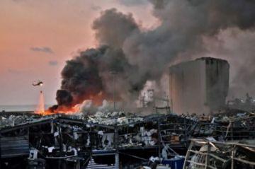 """Tras explosiones, Beirut es declarada """"zona de desastre"""""""