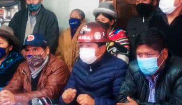 COB y organizaciones intensificarán movilización en Bolivia