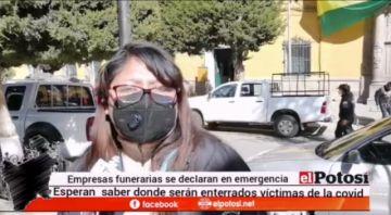 """Funerarias: """"No sabemos dónde llevar a los cadáveres con COVID"""""""