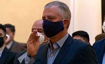 Añez posesiona a Branko Marinkovic como Ministro de Planificación