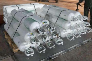 Más de una tonelada de oxígeno fue enviado a Oruro vía aérea
