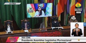 Vea la Sesión de honor de la Asamblea Legislativa Plurinacional por el 195 aniversario de Bolivia