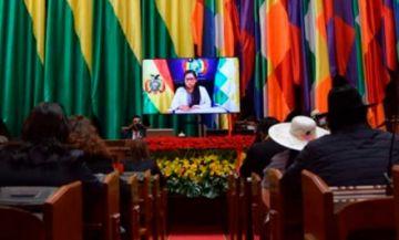 Copa en su mensaje: es momento de cultura de paz y diálogo