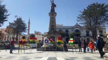 Actos en homenaje a Bolivia en Potosí se viven en medio de pandemia y patriotismo