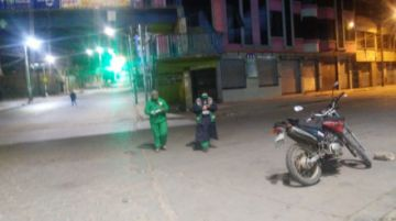 EMAP recoge la basura en pleno encapsulamiento en Potosí