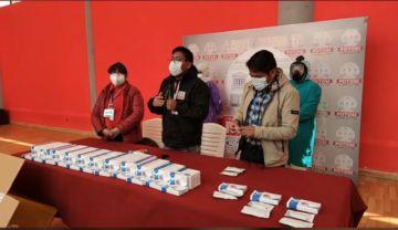 Ya están en Potosí las 10.000 pruebas rápidas de coronavirus