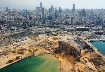 Presidente libanés rechaza investigación internacional sobre explosión en Beirut