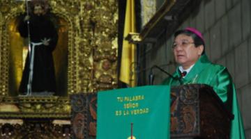 Monseñor Pesoa lamenta que el sistema sanitario sea incapaz de hacer frente a las necesidades del país