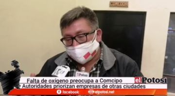 Comcipo pide atender demanda de oxígeno para Potosí