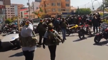 Defensoría denuncia permisividad del Estado ante grupos parapoliciales que ejercen violencia