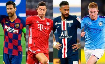 Messi, Lewandowski, Neymar, De Bruyne… los llamados a brillar en Lisboa