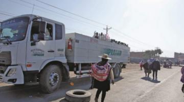 Afines al MAS bloquean carreteras y toman rehenes en Santa Cruz