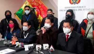 El Ministerio Público admite denuncia contra Huarachi, Evo Morales y binomio del MAS