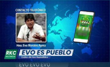 Evo Morales admite que el bloqueo perjudica al MAS