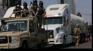 COB instruye a los movilizados dejar pasar a la caravana de cisternas con oxígeno