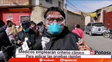 Brigadas buscan establecer el porcentaje real de infectados en Potosí
