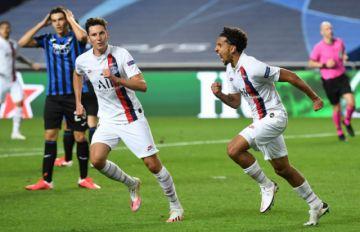 """El PSG elimina a Atalanta y espera en """"semis"""" a Atlético o Leipzig"""
