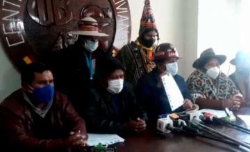 COB y Pacto de Unidad proponen el 11 de octubre para elecciones