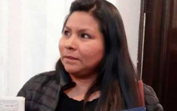 """""""Me han pedido que deje mi curul del MAS, porque pienso diferente"""", afirma diputada de El Alto"""
