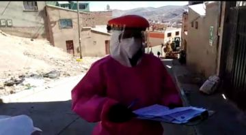 El rastrillaje continúa por los barrios, vea cómo es en Villa Méndez